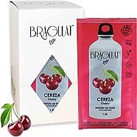 Bragulat Zumo Bebidas y Refrescos Instantáneas en Polvo Concentrado de Frutas, Cereza - 15 Sobres