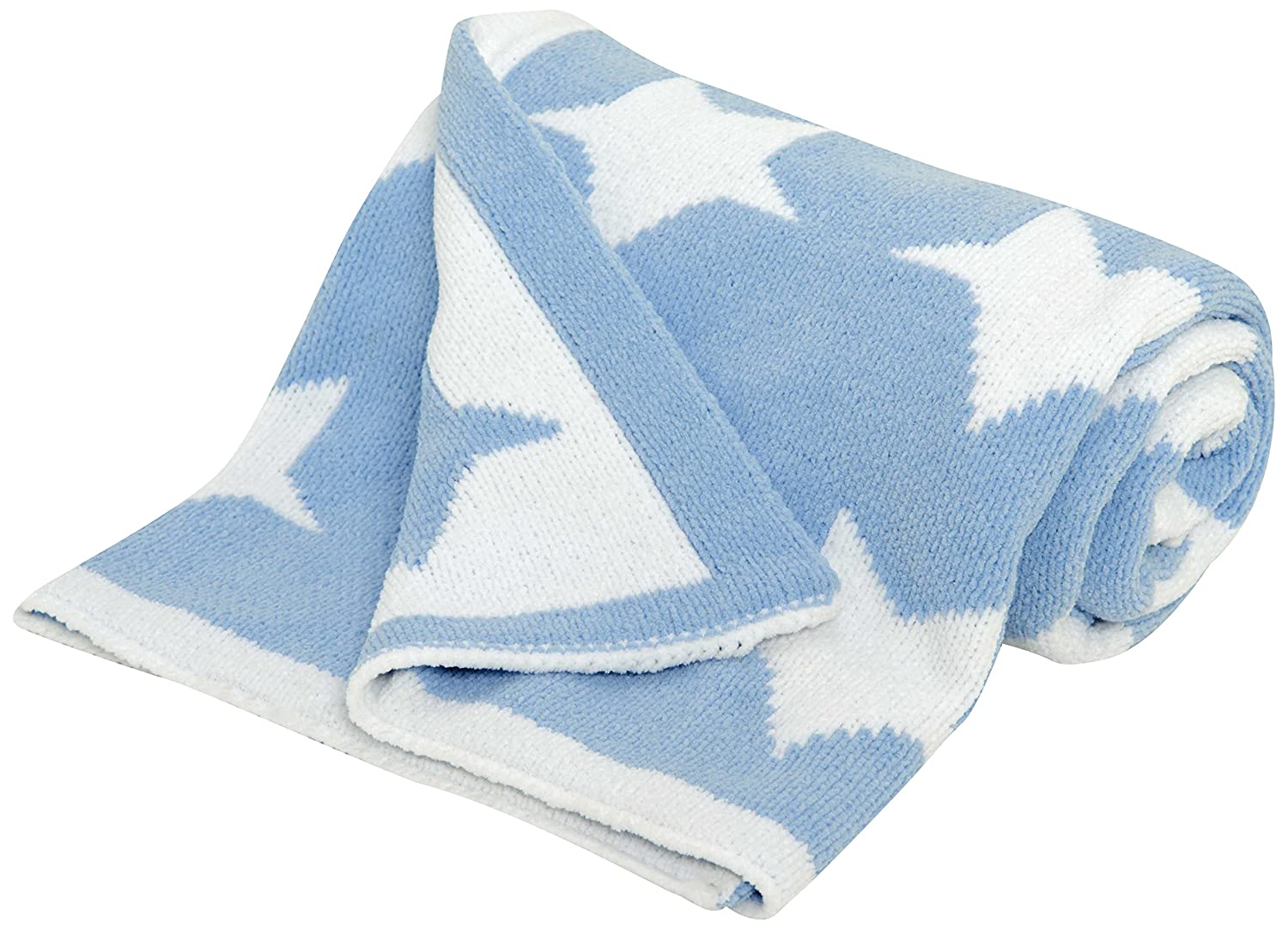Silvercloud Chenille Blanket, Little Star East Coast Nursery Ltd 8484LS
