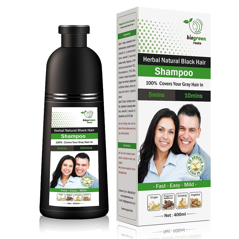 Herbal Natural Black Hair Shampoo 400ml Beauty Amazon Com