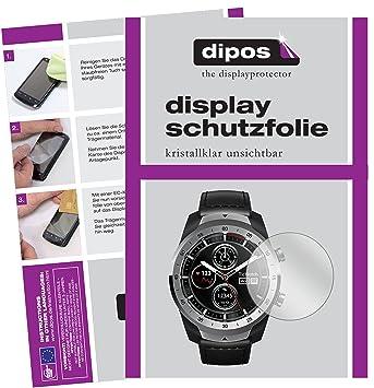 dipos I 6X Protector de Pantalla Compatible con Ticwatch Pro ...