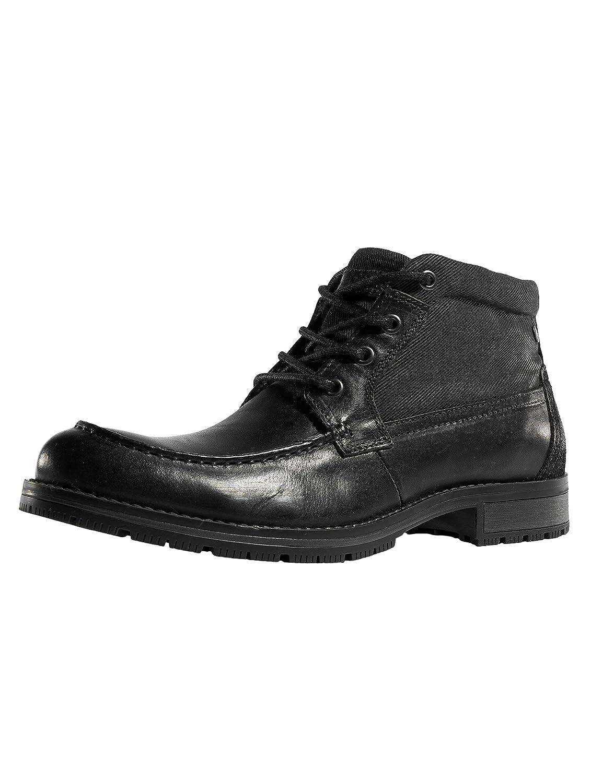 Jack & Jones Hombres Calzado/Boots jfwForest 46 EU|Negro