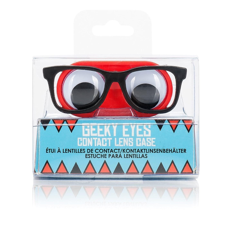 NPW-USA Geeky Eyes Contact Lens Case Inc NP21493
