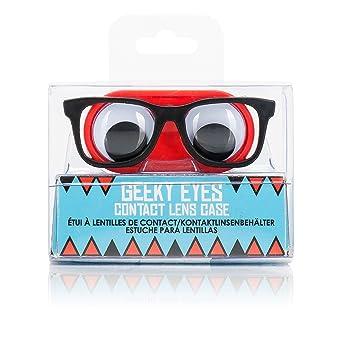 Amazon.com: Geeky Ojo Contacto con lente caso: Beauty