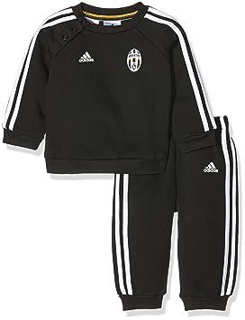 af8bcde3996b0 Adidas JUVE 3S BBYJOGG - Ensemble de vetêments de Club - Ligne Juventus  pour Unisex Enfants