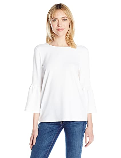 deabd18cadd kensie Women s Stretchy Crepe Top at Amazon Women s Clothing store