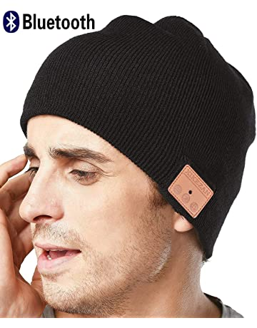 XIKEZAN Senza Fili Bluetooth Beanie Cappello di Uomini e Donne a Maglia di  Inverno Berretto con cd494b0bd9c0
