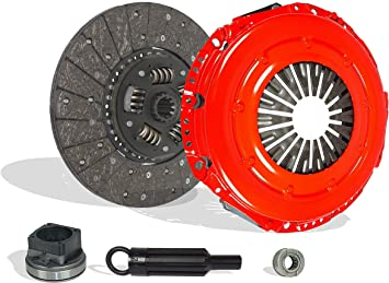Clutch Kit Works With Ford F250 F350 F450 F550 Super Duty F53 Cabelas King Ranch Lariat XL XLT Base Harley-Davidson Edition FX4 1999-2010 6.8L V10 GAS SOHC Naturally Aspirated