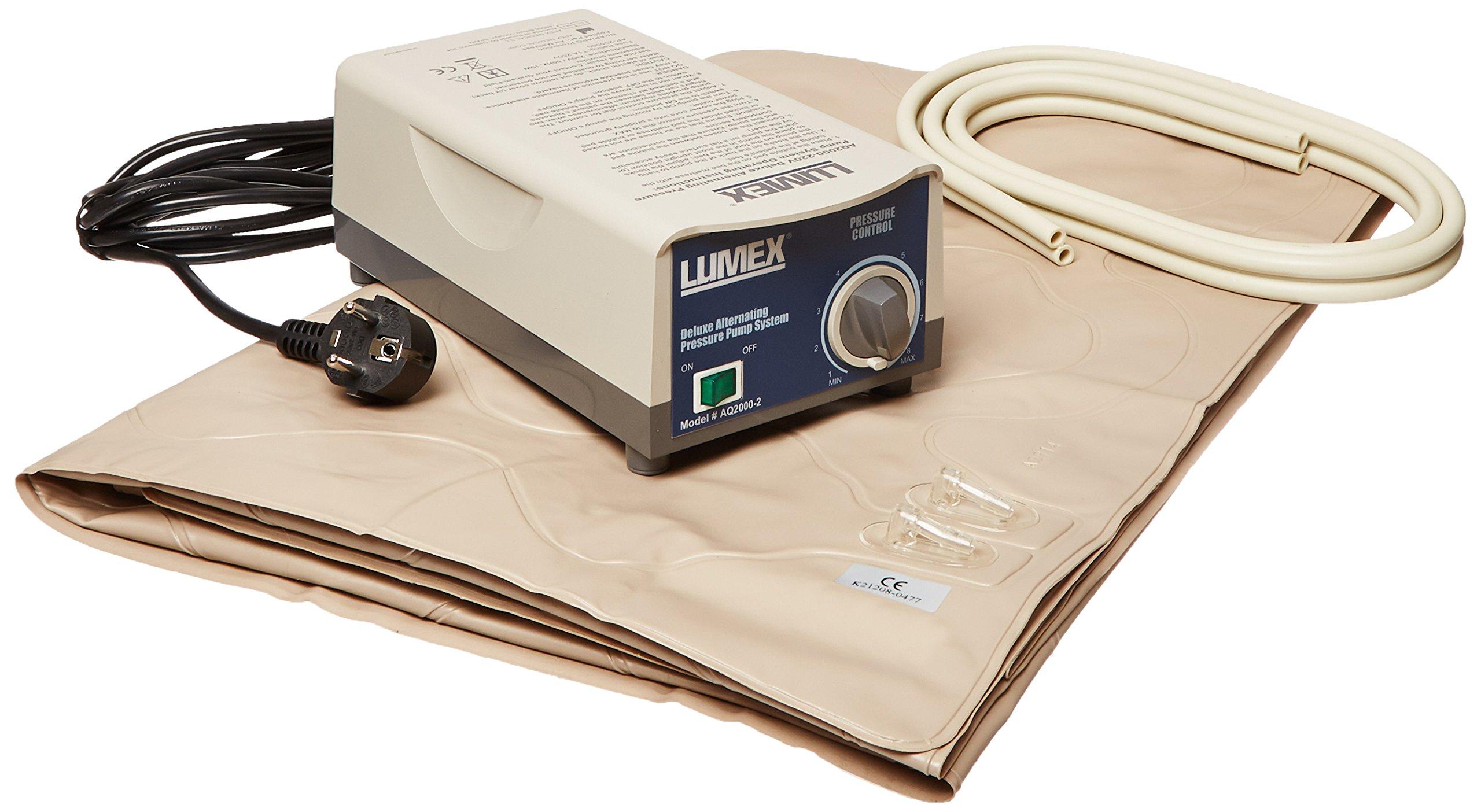 Lumex AQ2000-220V Alternating Pressure Pad Mattress and Pump System, 220V