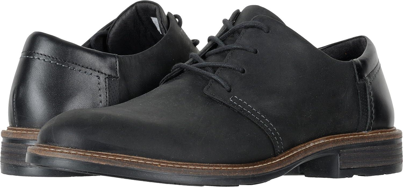 NAOT Footwear Women's Kirei Mary Jane Flat B01M7TQB1Z 45 M EU|Coal Nubuck, Blk Raven, Onyx