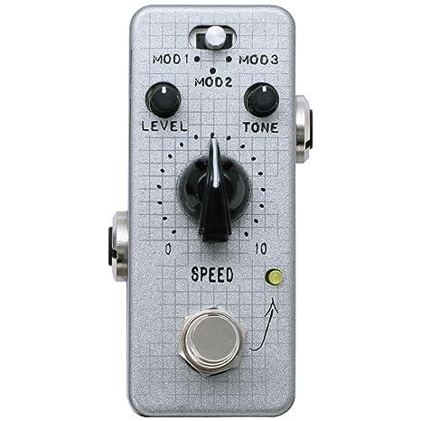 f-pedals phazevibe Lite diseño de guitarra eléctrica efecto