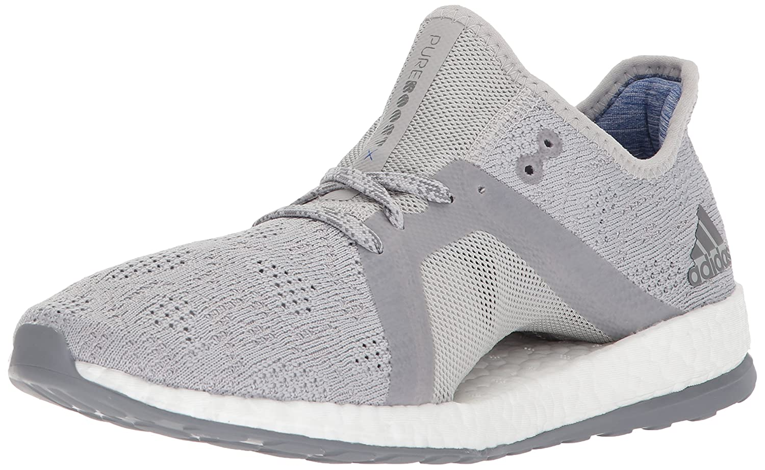 adidas Women's Pureboost X Element Running Shoe B071Z6D3V6 5 B(M) US|Grey Two/Grey Three/Blue