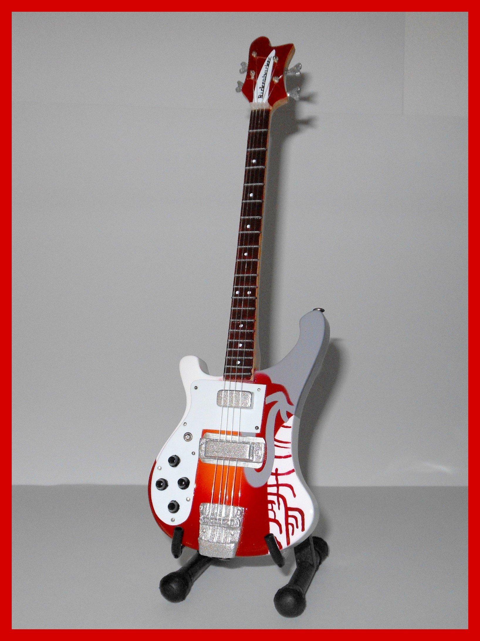 RGM195 Paul McCartney Psychadelic Bass Miniature Guitar