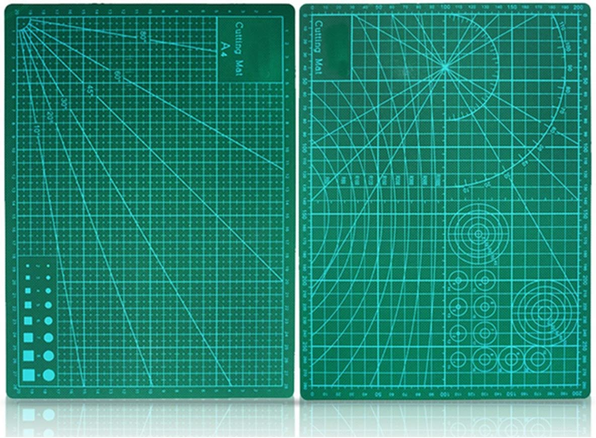 Double Sided Green Cutting Mat Board A4 Size Pad Model Healing Design Craft Tool Vivona Hand Tools