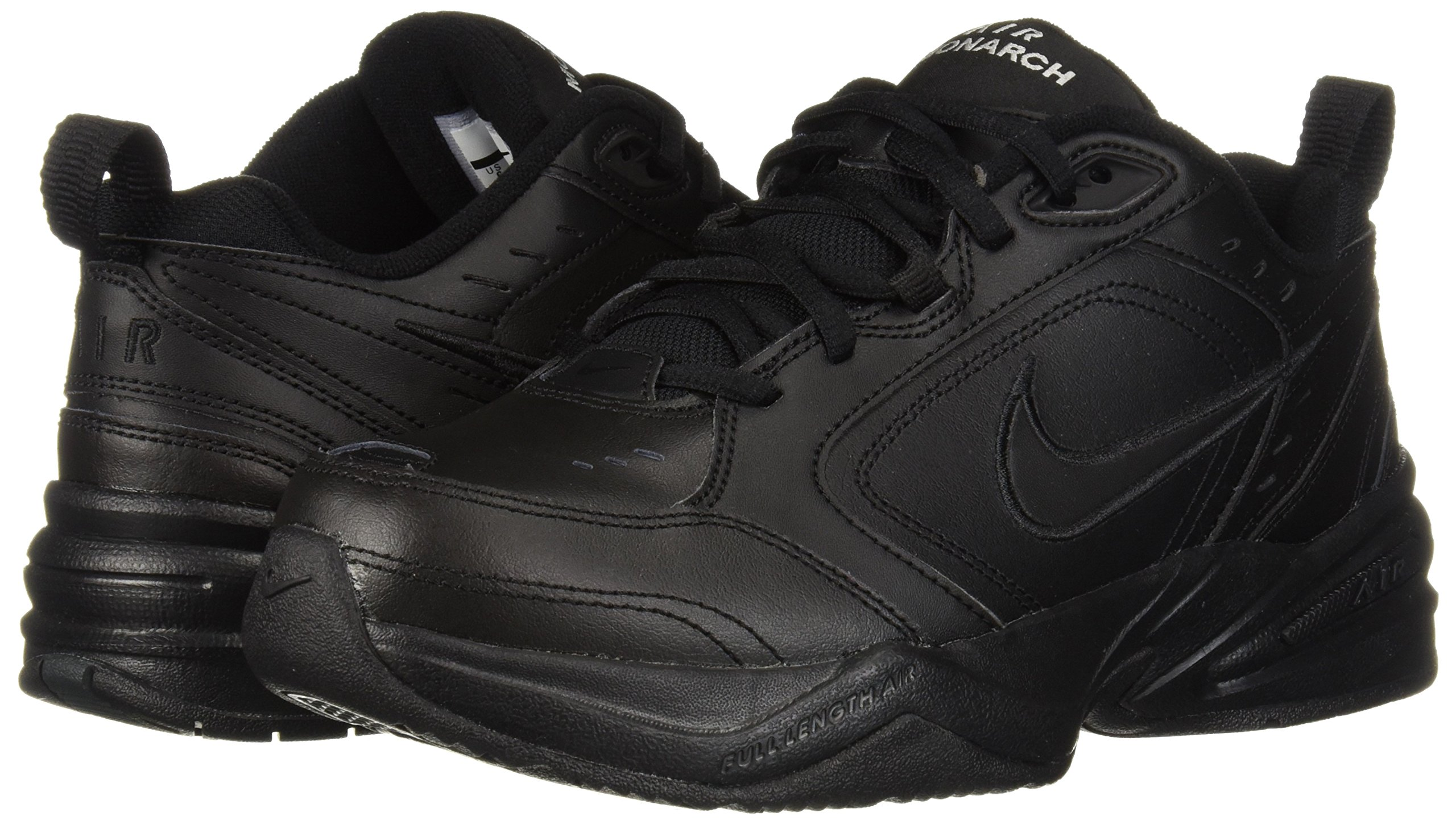 Nike Men's Air Monarch IV Cross Trainer, Black, 7.5 4E US by Nike (Image #6)
