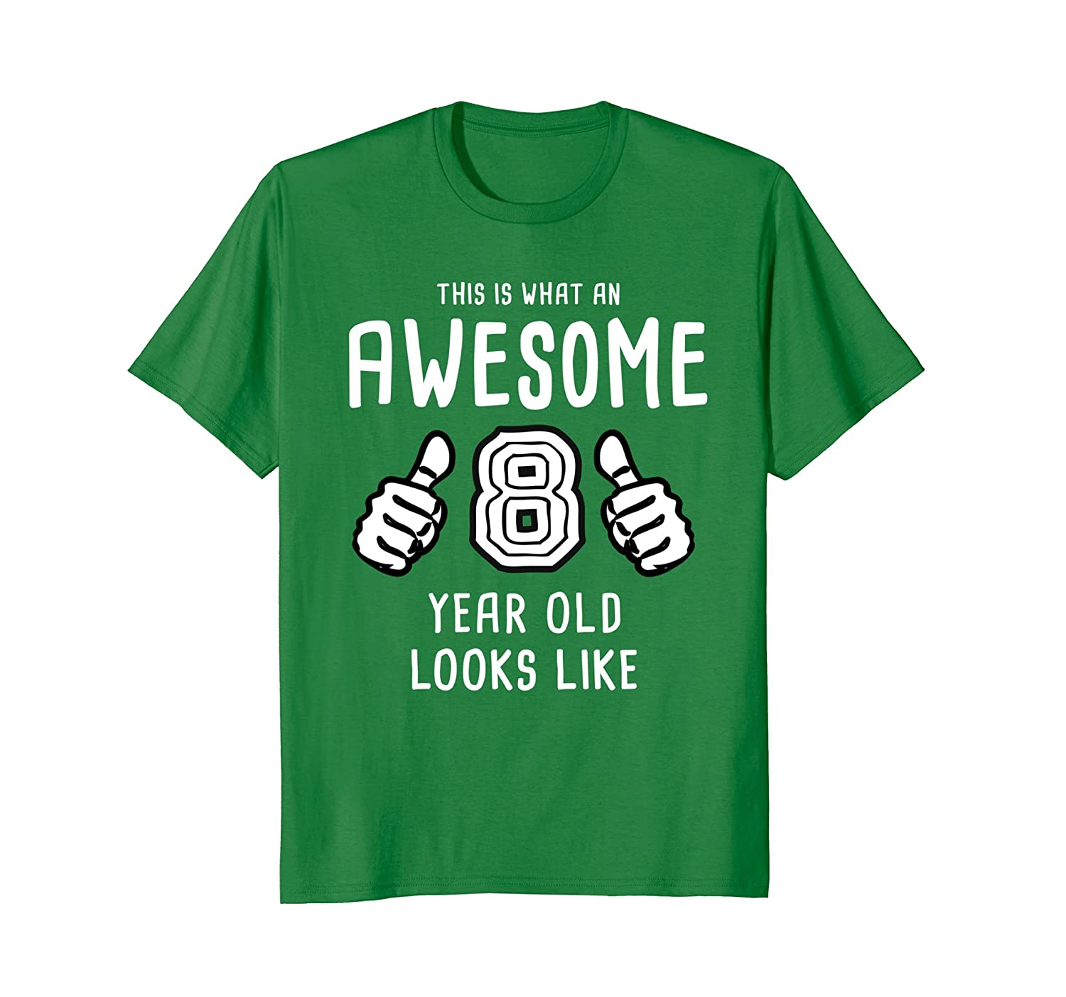 Pinkbest1 Awesome 8 Year Old Shirt