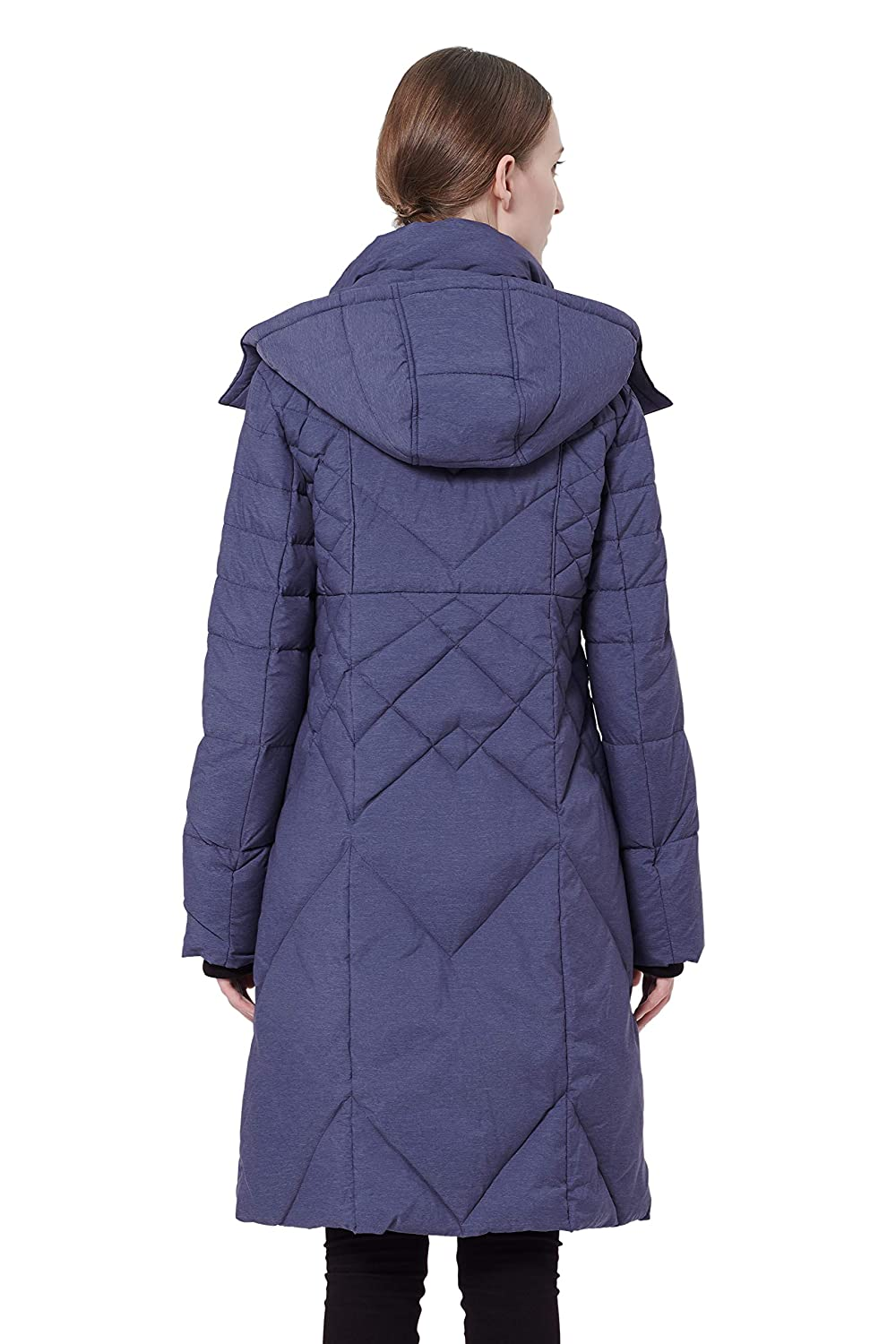Orolay Womens Thickened Down Jacket with Hood YRF6006F