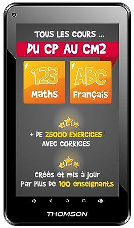 Thomson Tablette Tactile éducative Primaire Teo Qd7bk8e 7 1 Go De