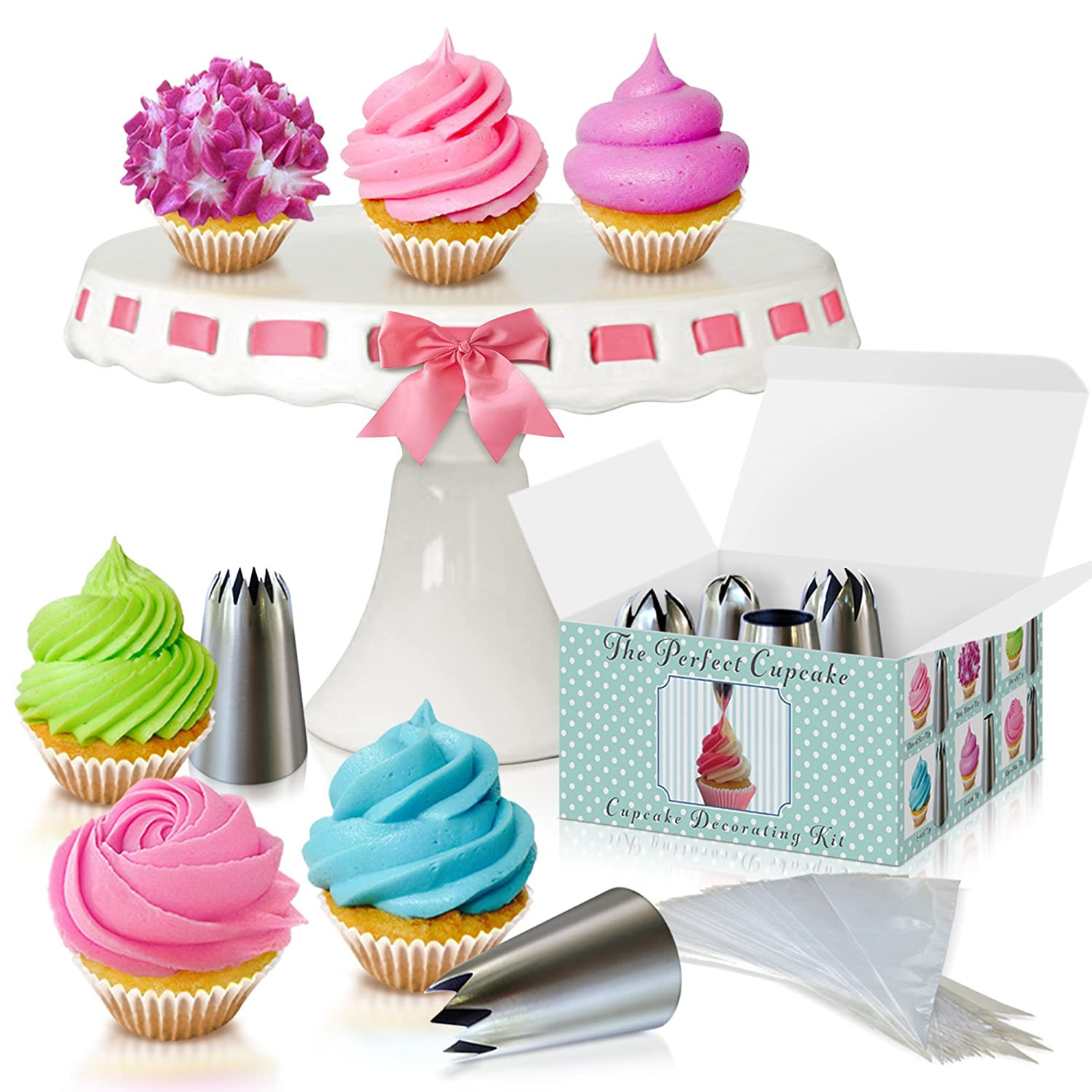 Amazon Cupcake Decorating Kit The Perfect Cupcake By