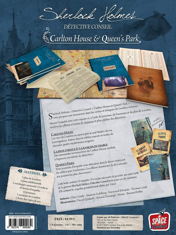Asmodee- Sherlock Holmes DC : Carlton House & Queens Park ...