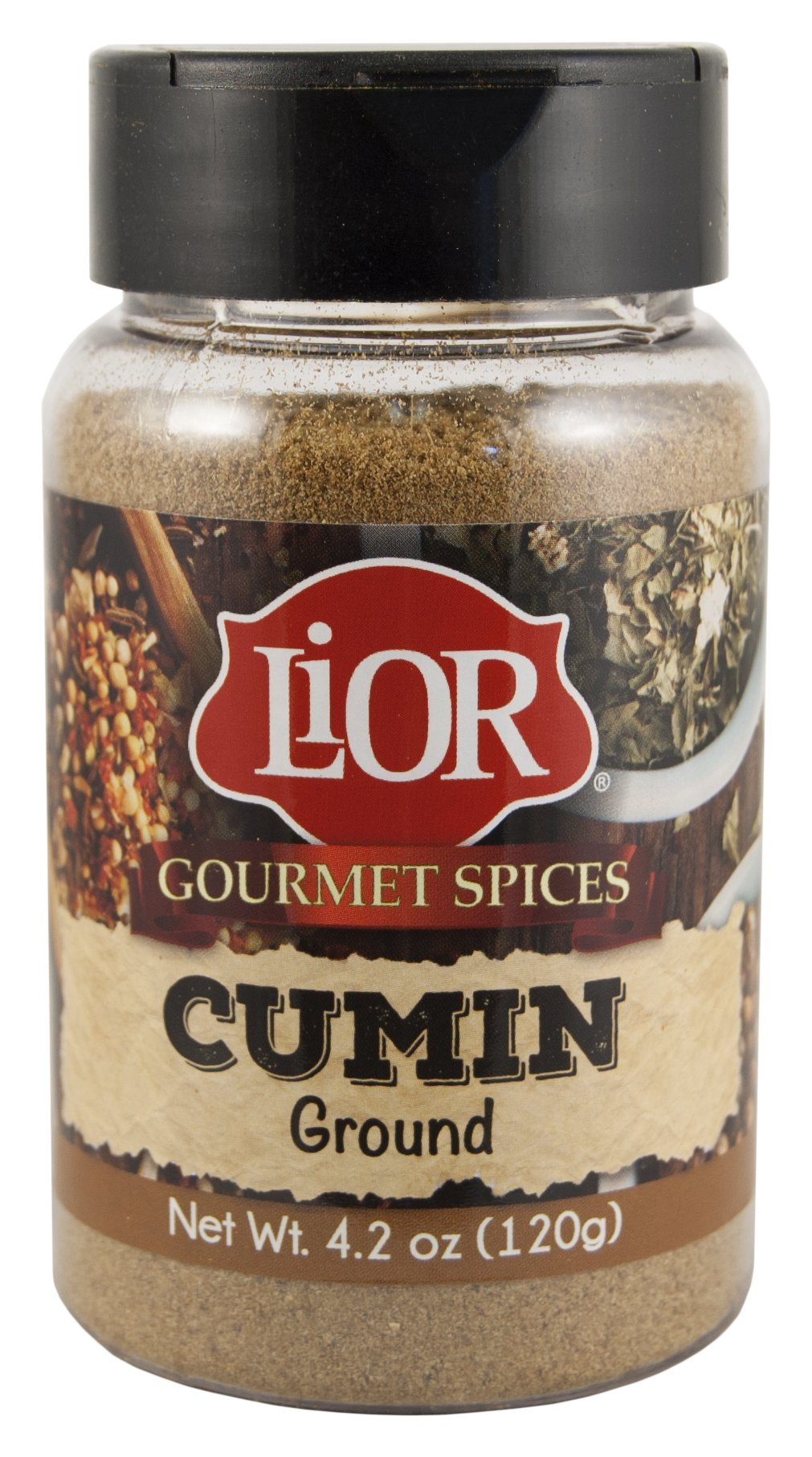 LiOR Ground Cumin Seasoning, 4.23-Ounce Jars (Pack of 3)