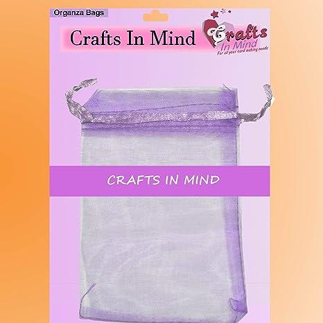 Bolsas de regalo de organza por Crafts in Mind - 5 x 7 cm ...