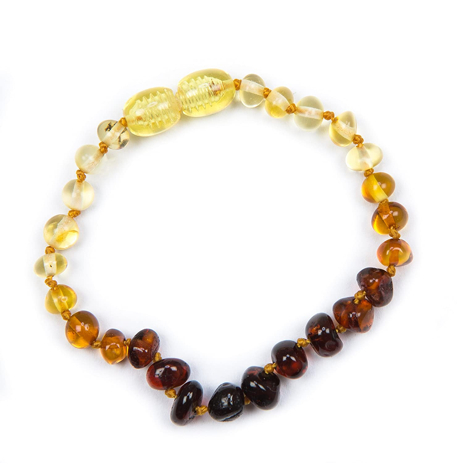 100% Genuine Baltic Amber Anklet Bracelet Ombre sizes 12cm 13cm 14cm 15cm 16cm. Free UK and Fast Delivery. Money Back Guarantee Baby J's