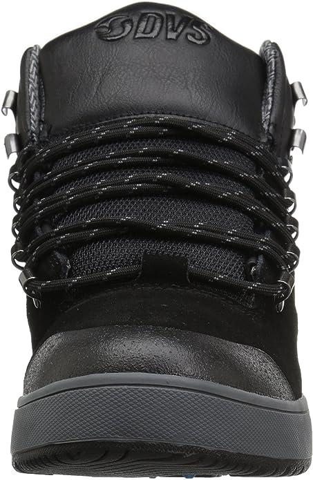 DVS Skateboard Shoes Vanguard Boot Black//Suede Ettala