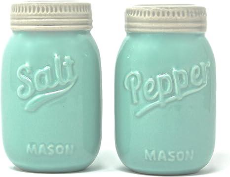 VINTAGE Ceramic Salt and Pepper Farmhouse Decor Housewarming Gift