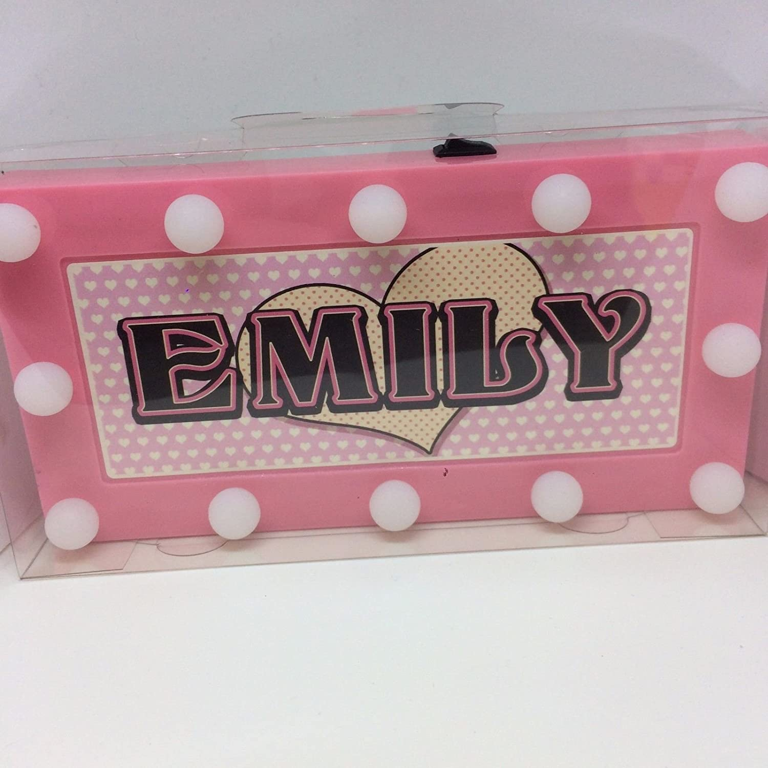 HOLLY Personalised LED Name In Lights Any name available
