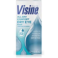 Visine 0.5 fl. oz All Day Comfort Dry Eye Relief Eye Drops (Up to 10 Hrs of Comfort)