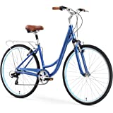 sixthreezero Body Ease Women's 7-Speed Comfort Road Bicycle, Navy Blue