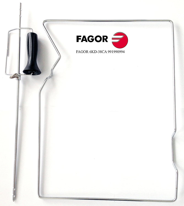 Fagor 6 KD - Asador rotativo (hornos Pirolíticos de 38 cm.) Válido para hornos Multifunción Plus Pirolíticos de 38 cm. (mod. 6H-580 TC X).: Amazon.es: Hogar