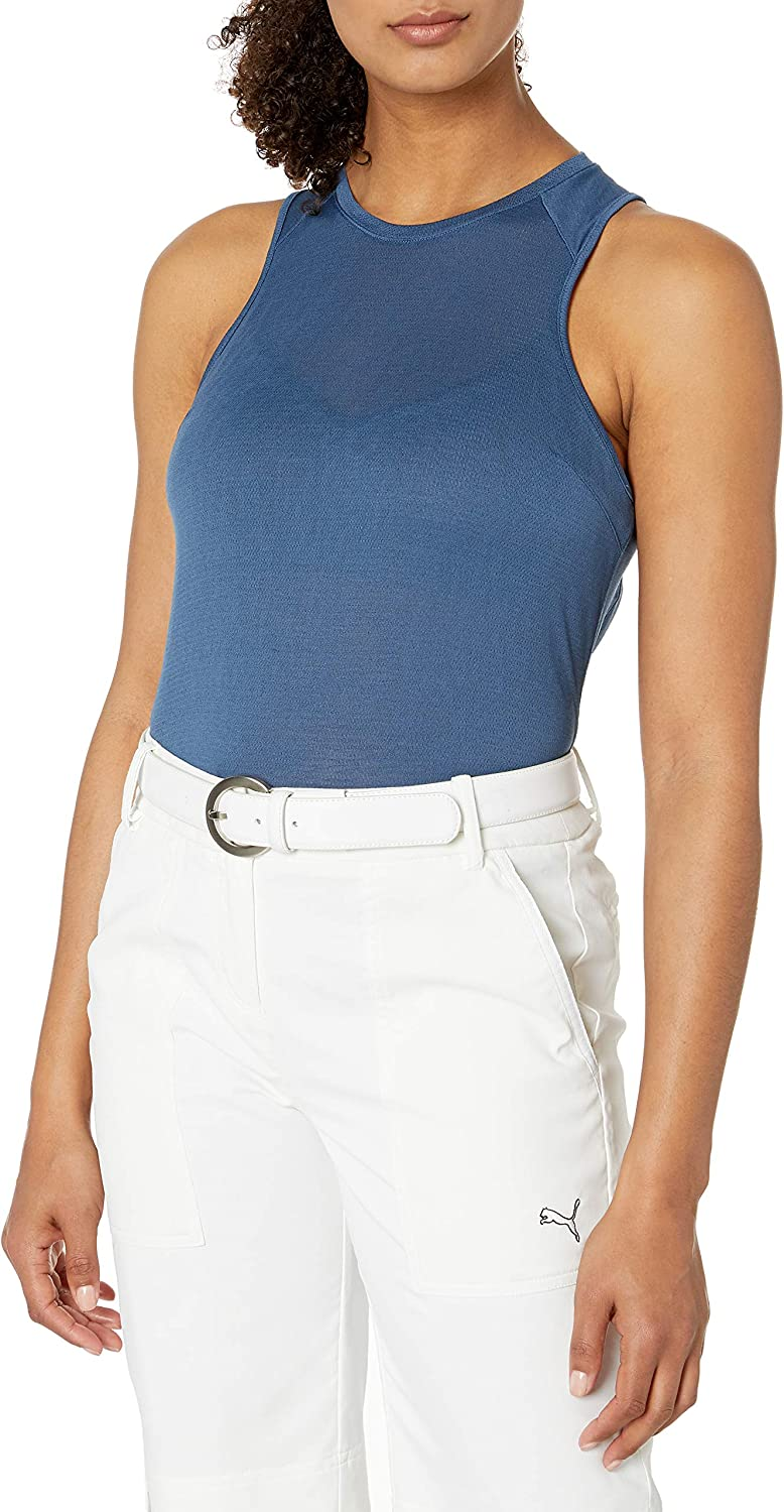 PUMA Golf 2020 Women's Mesh Tank Flirt Clearance Large special price !! SALE Limited time