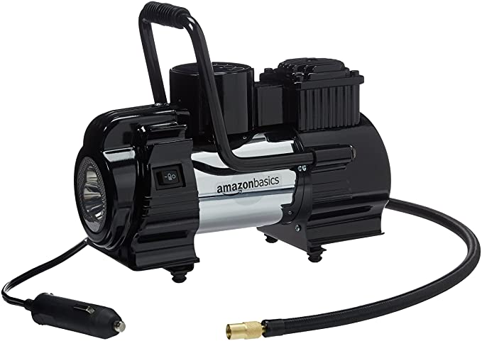 Amazon.com: AmazonBasics Portable Air Compressor with Carrying Case: Automotive