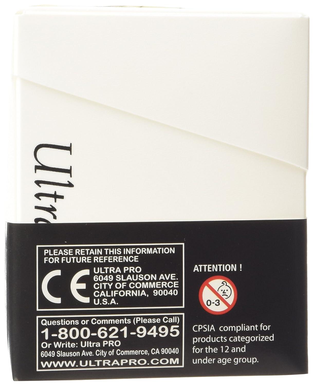 Pro White Deck Box Ultra Pro 100