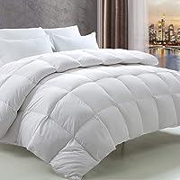 Fairyland Queen Siberian Goose Down Comforter (White)