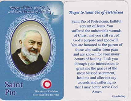 Patron saint of healing prayer
