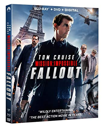 Mission Impossible Fallout Blu Ray