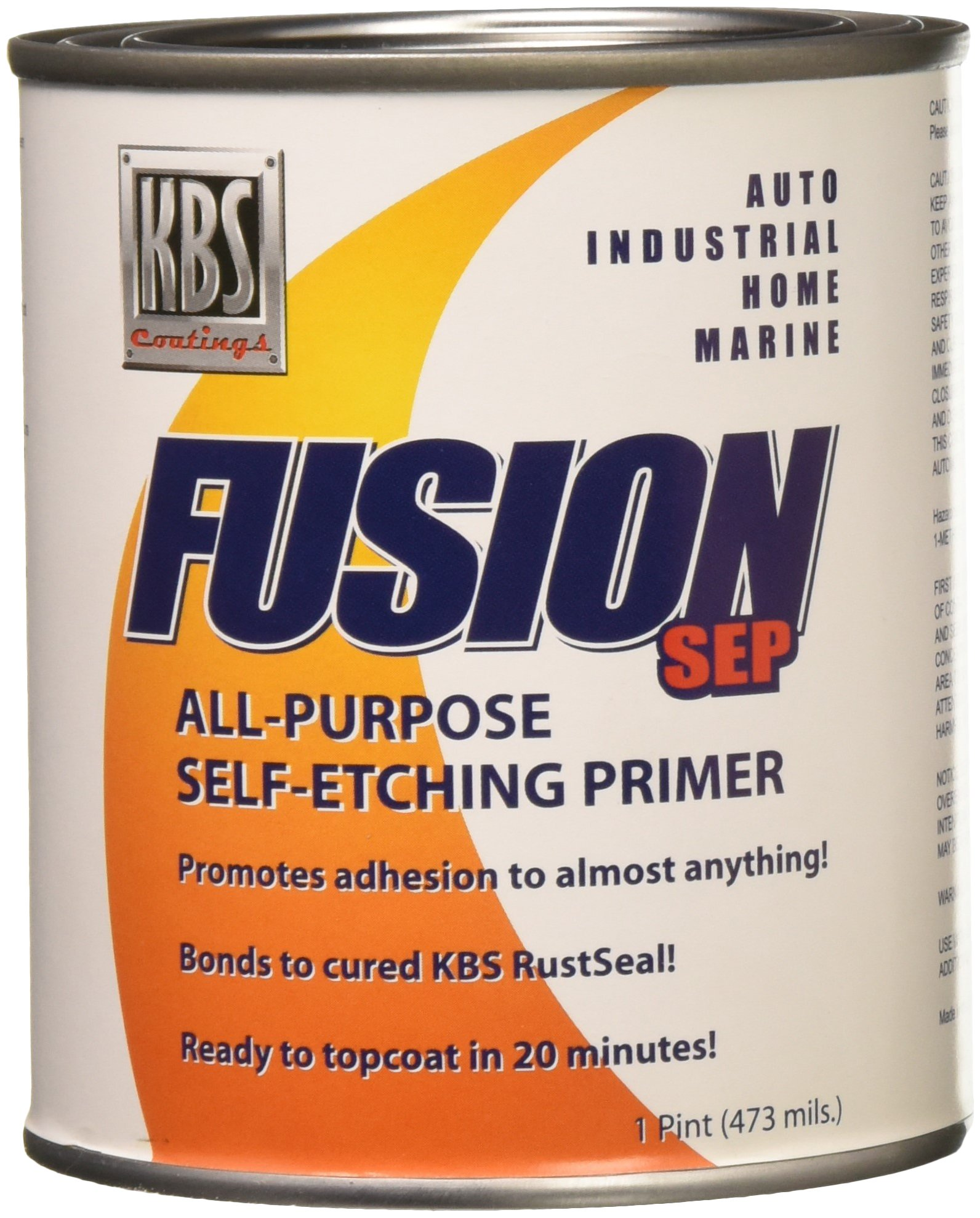 KBS Coatings 7300 Fusion Self-Etch Primer - 1 Pint