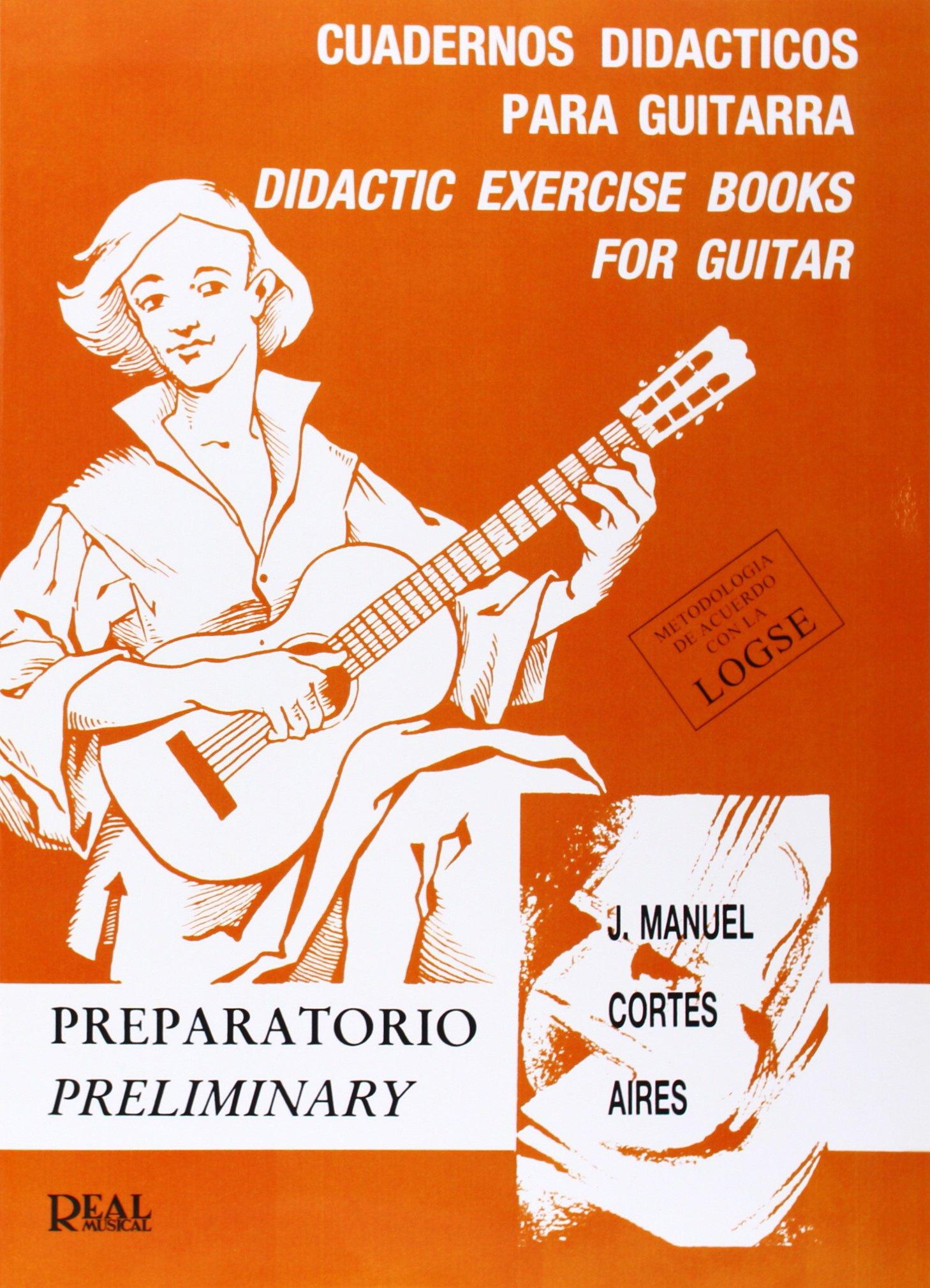 Cuadernos Didácticos para Guitarra, Preparatorio: Amazon.es ...