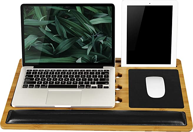 LapGear BamBoard Pro Lap Desk With Wrist Support