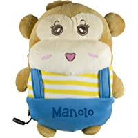 BEPER Calentador para Las Manos Manolo, Marròn, Amarillo y Azul.