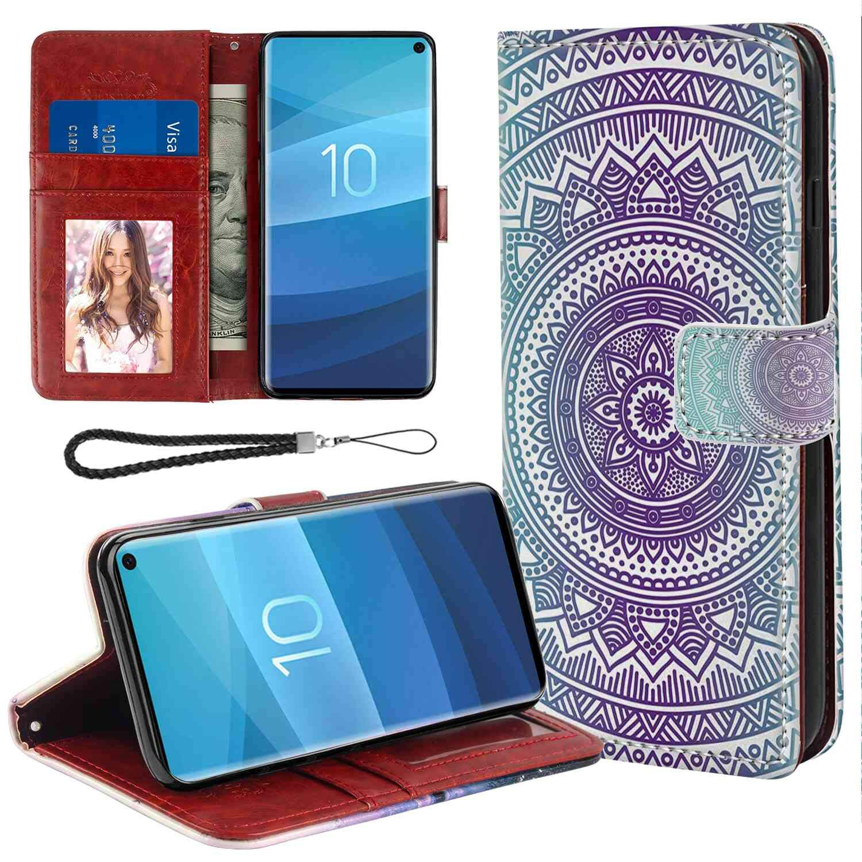 Purple Boheme Samsung S10 Case