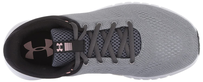 Under Armour Women's Micro G Pursuit D Running Shoe B0773VXRVD 12 M US|Steel (102)/Black