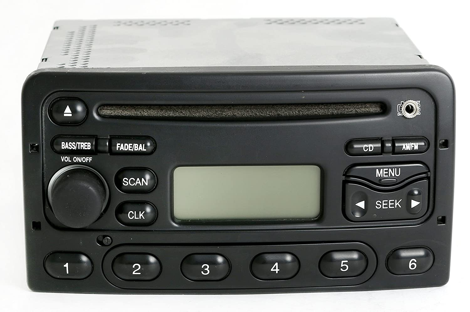 amazon com ford focus 2001 2004 radio am fm cd player upgraded w ford aux input harness Ford Aux Input Wiring Harness amazon com ford focus 2001 2004 radio am fm cd player upgraded w aux input ys4f 18c838 da cell phones & accessories