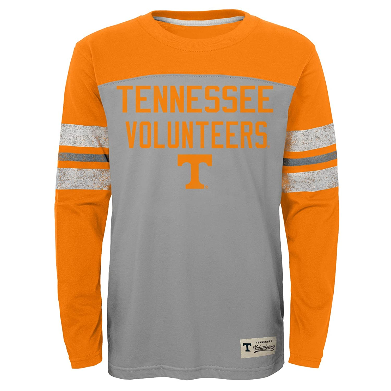Youth Medium 10-12 Heather Grey NCAA by Outerstuff NCAA Tennessee Volunteers Kids /& Youth Boys Legacy Tee Long Sleeve Crew