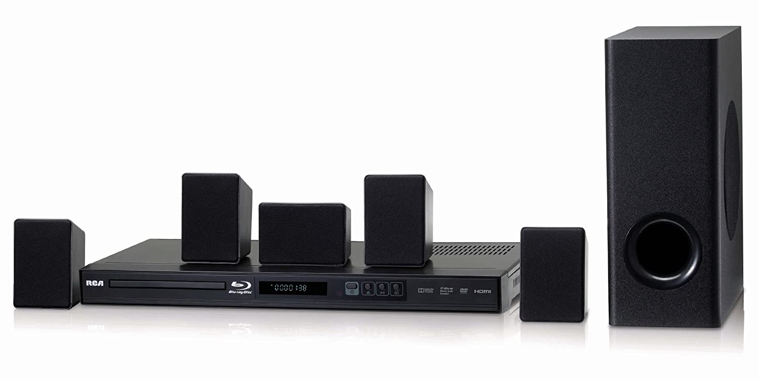 Amazon.com: RCA RTB10230 Home Theater System with Blu-Ray Player ...