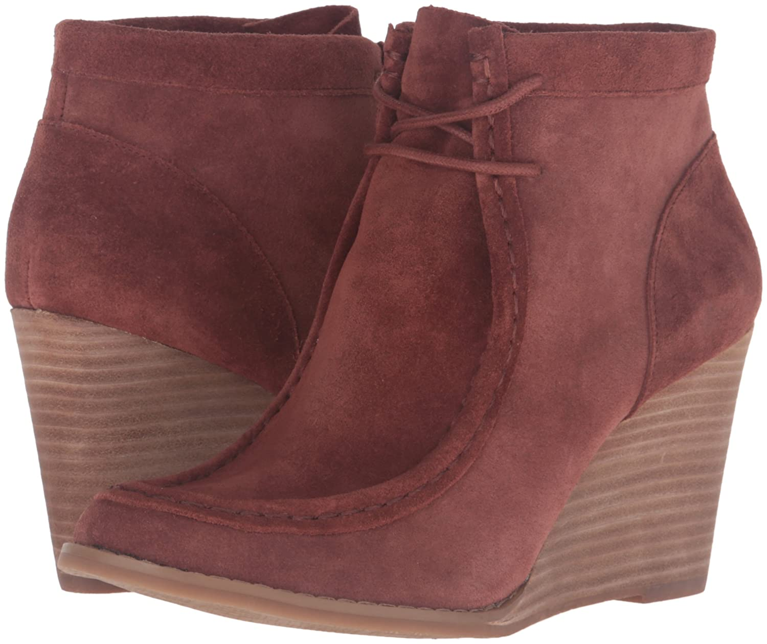 Lucky Brand Women's Ysabel Ankle Bootie B01CGWWS40 9 B(M) US|Russet