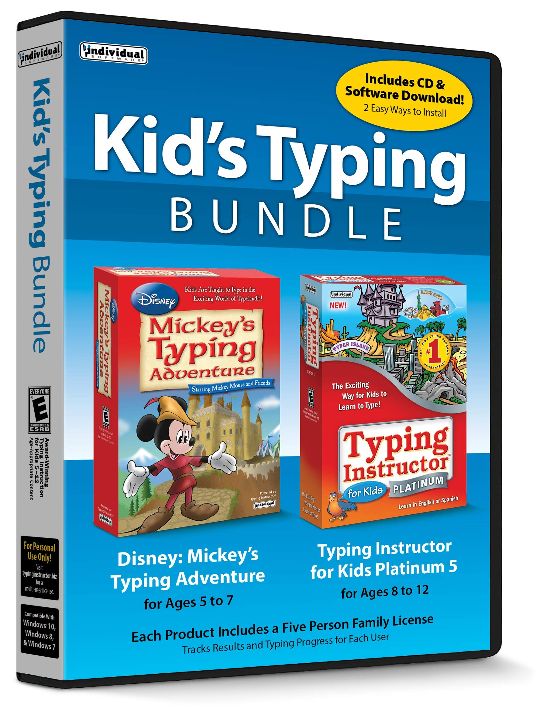 Kid's Typing Bundle by Individual Software