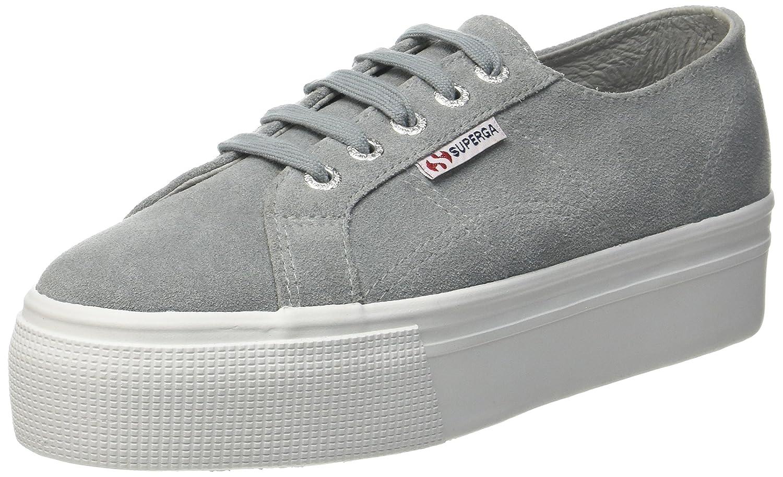 Superga Damen 2790-suew Sneaker Grau (Lt Grau 506) 506) Grau 710516